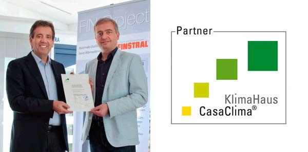 Rinnovo convenzione partner casaclima porteco for Finestra qualita casaclima
